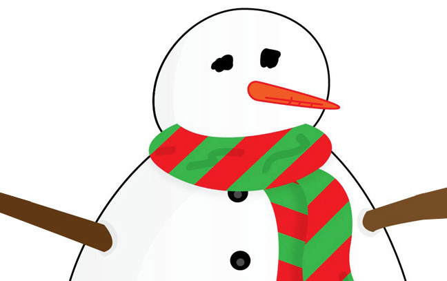 648x407 Snowman Clipart Simple