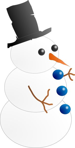 304x600 7 Best Snowman Images Calendar, Drawing And Free Image