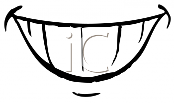 350x208 Snowman Clipart Mouth