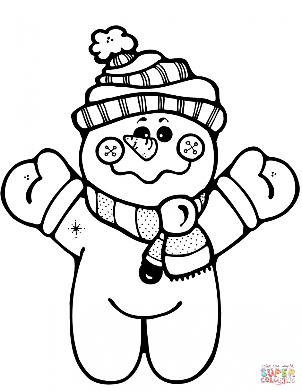 970x1255 Coloring Pages Snowman Coloring Pages Happy Page Snowman