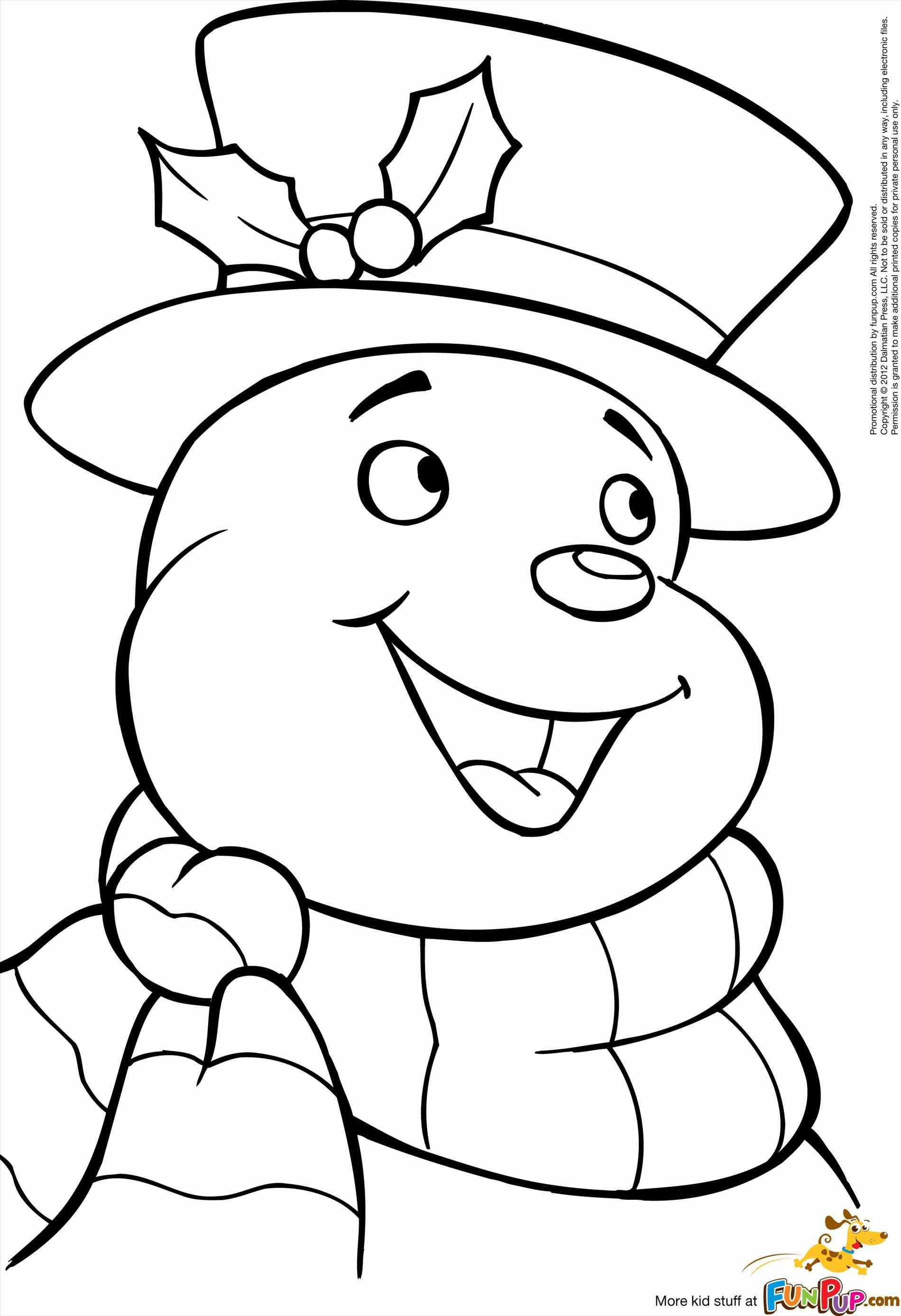Snowman Coloring Pages | Free download on ClipArtMag