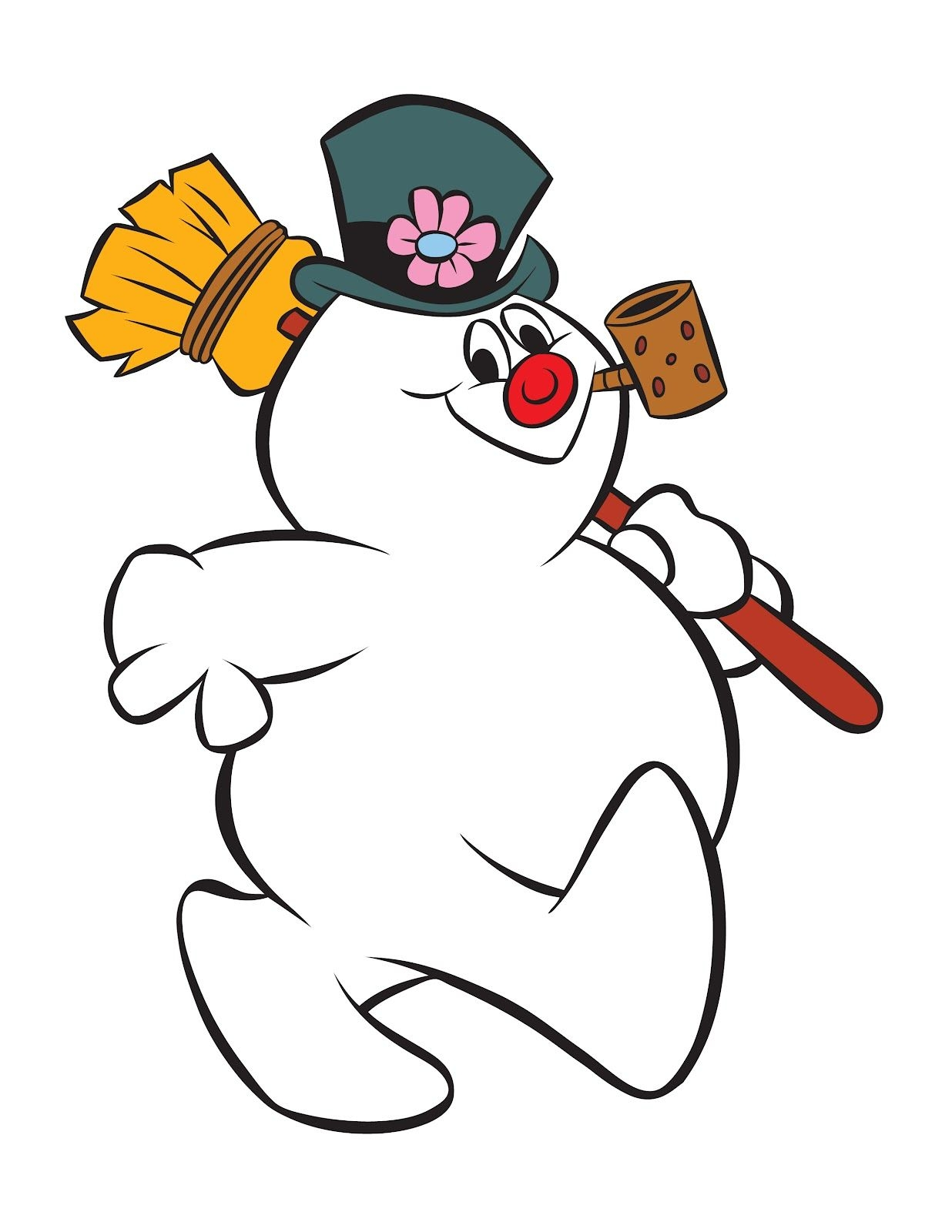 1236x1600 Frosty The Snowman Coloring Pages Ppinews.co