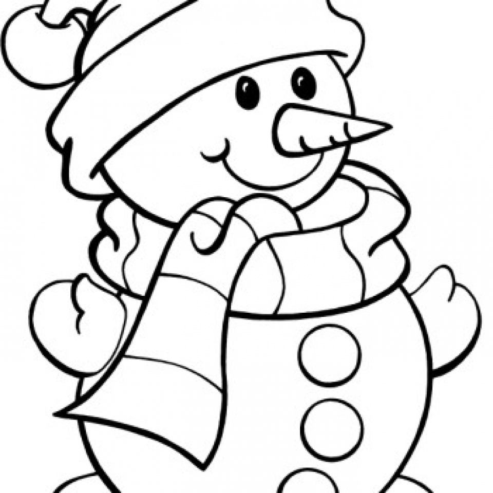 960x960 Get This Snowman Coloring Pages Free Printable 66396 !