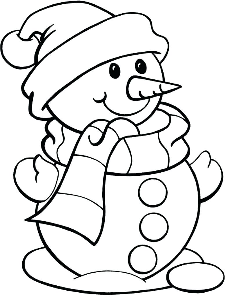 776x1024 Snowman Coloring Pages Free Snowmen Pictures Frosty Color Cute