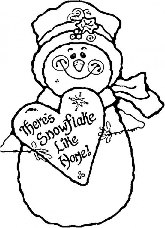 Snowman Coloring Pages Free Download Best Snowman Coloring Pages