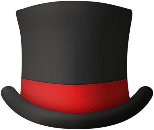 500x422 Top Hat Clipart Maroon