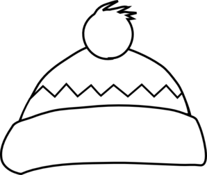 298x252 White Winter Hat Clip Art