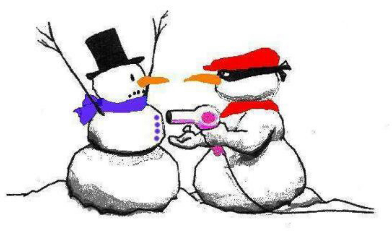 3000x1776 Funny Snowman Clipart