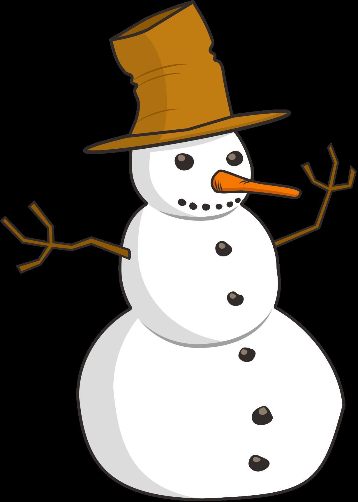 1229x1719 Snowman Clipart 5 Clipartset
