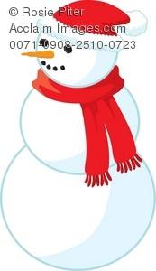 173x300 Santa And Snowman Clipart