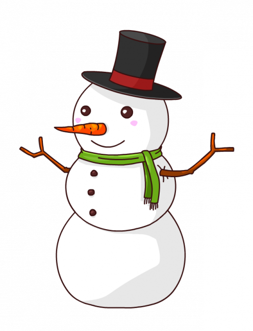 496x650 Christmas Snowman Coloring Pages