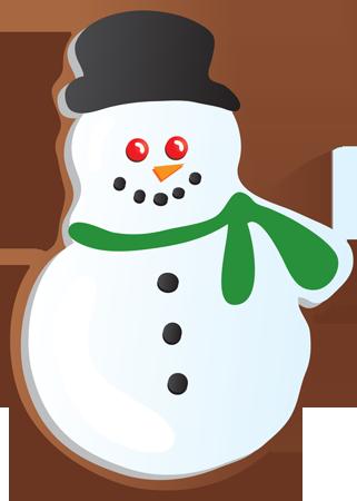 321x450 Christmas Sugar Cookie Snowman