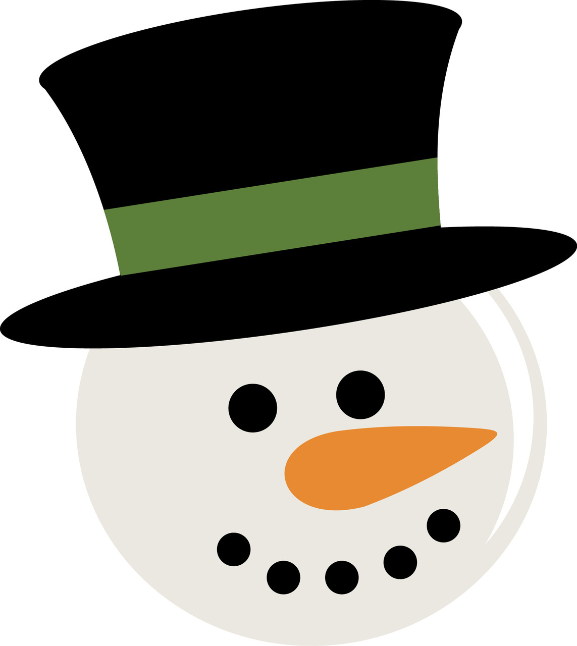 1143x1280 Free Printable Snowman Face Template Search Results