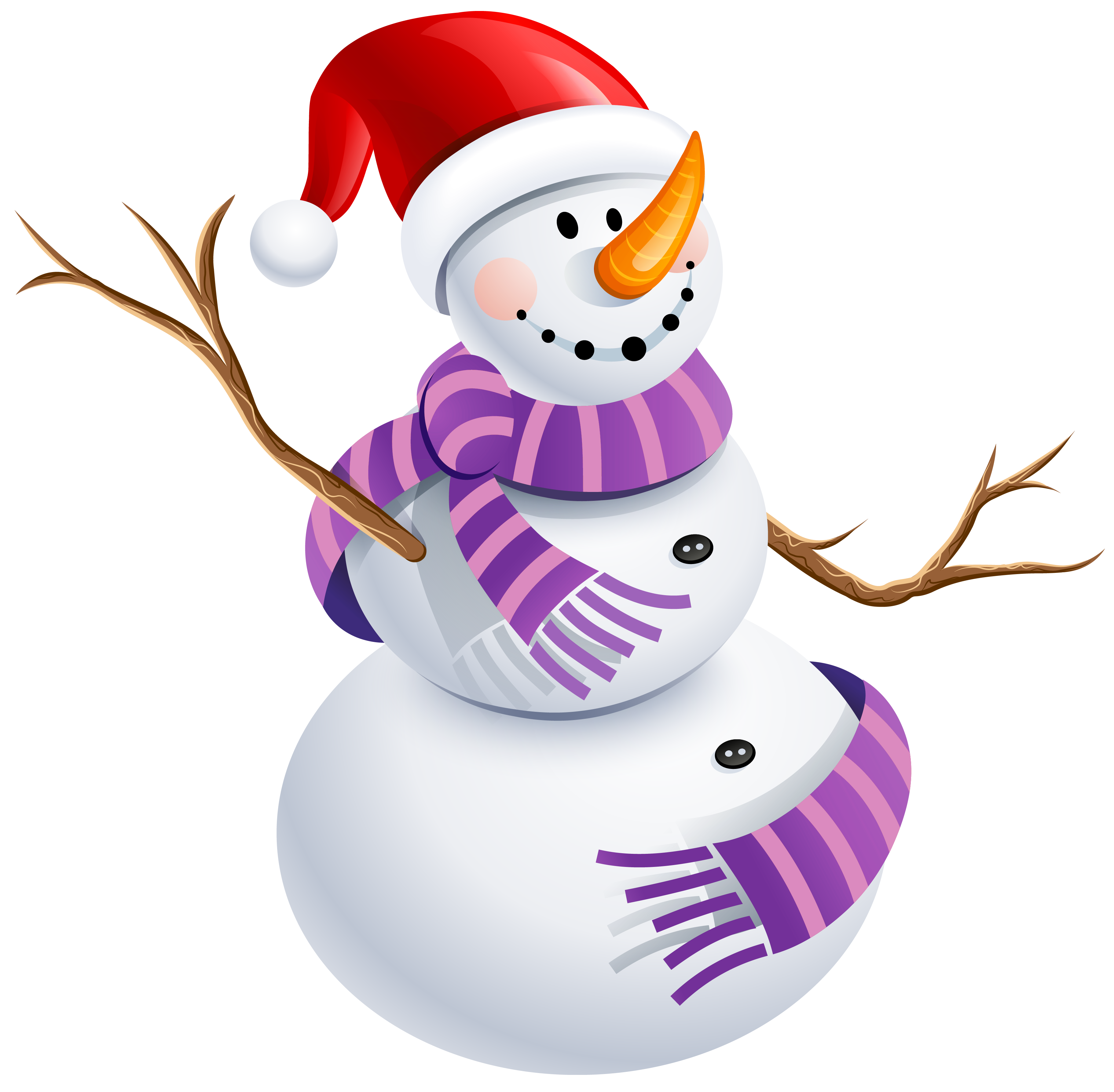 3646x3576 Snowman With Purple Scarf Png Pictureu200b Gallery Yopriceville