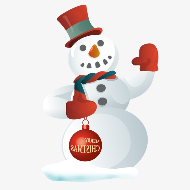 650x650 Christmas Snowman, Christmas, Material, Element Png Image For Free