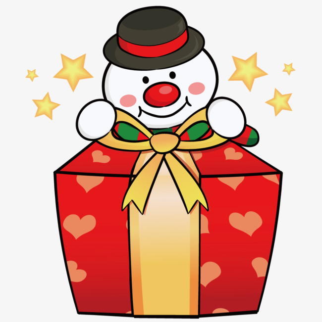 650x651 Opening Presents Snowman, Gift, Snowman, Cartoon Png And Vector