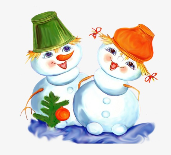 572x519 Couple Snowman, Snowman, Christmas Png Image For Free Download