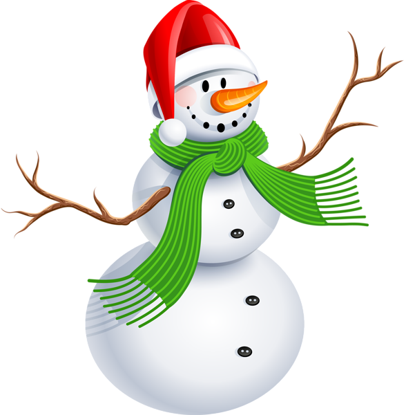 588x600 Snowman Clipart Transparent Background