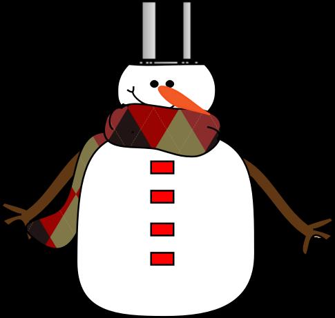 485x461 Snowman Clipart Basic