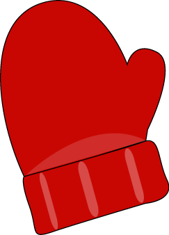 243x338 Snowman Clipart Mitten