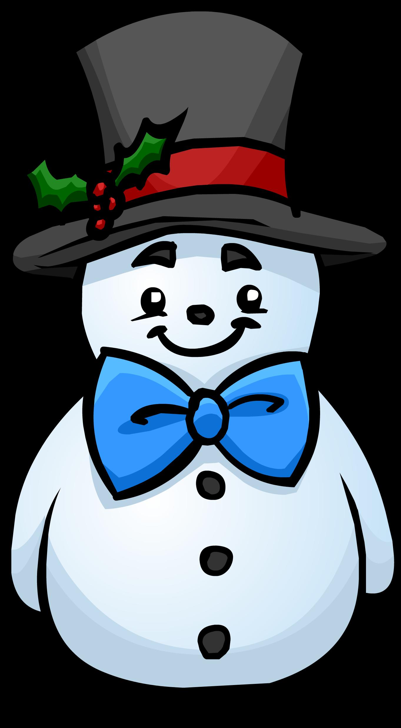 1363x2474 Top Hat Snowman Club Penguin Wiki Fandom Powered By Wikia