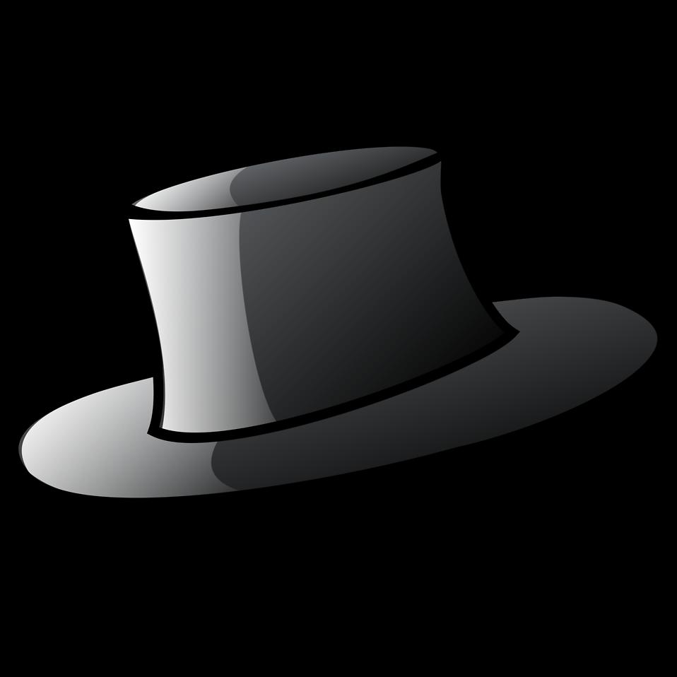 958x958 Top Hat Clipart Cap