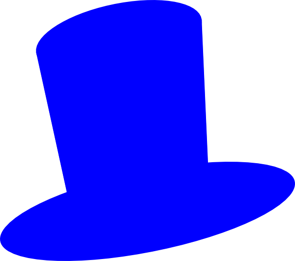 600x531 Top Hat Outline Clipart Image