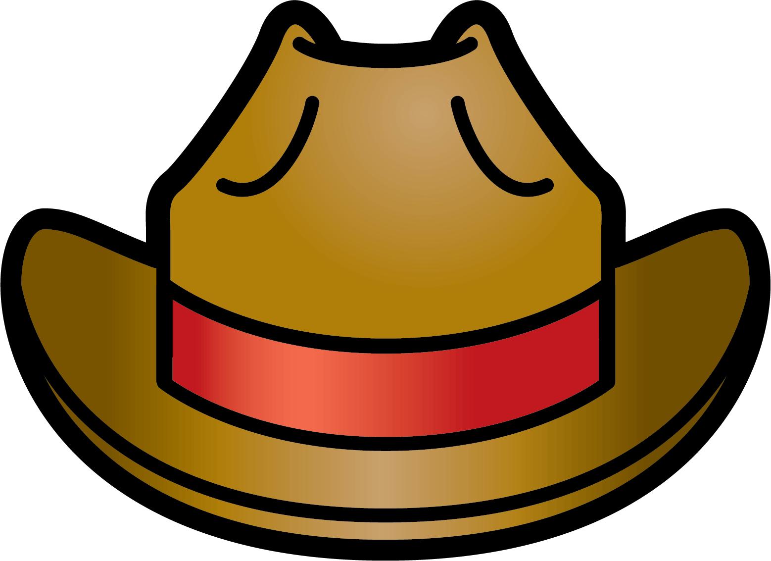 1558x1133 Cowboy Clipart Funny Hat