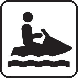 297x297 Personal Water Craft Watercraft White Clip Art