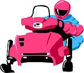170x148 Snowmobile Clip Art