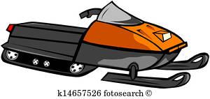 300x142 Snowmobile Clip Art And Illustration. 370 Snowmobile Clipart