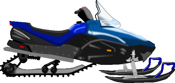 600x284 Snowmobile Clip Art