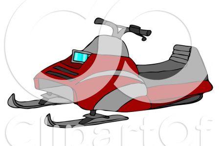 450x300 Snowmobile Trail Clip Art
