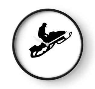 315x294 Snowmobile Silhouettes Greeting Cards By Asyrum Redbubble