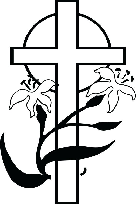 524x784 Easter Clipart Religious Religious Black And Easter Clip Art