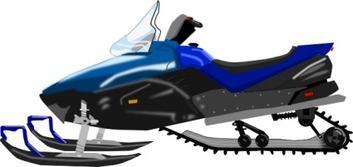 353x167 Free Snowmobile Clipart