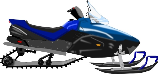 600x284 Snowmobile Clip Art Free Vector In Open Office Drawing Svg ( Svg