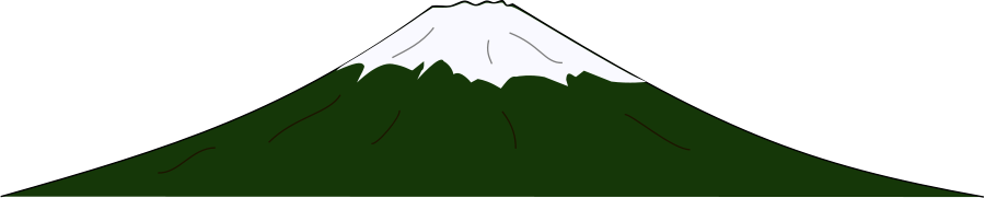 900x181 Free Snowy Mountain Clipart Image