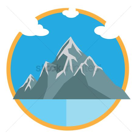 450x450 Free Snowy Mountains Stock Vectors Stockunlimited