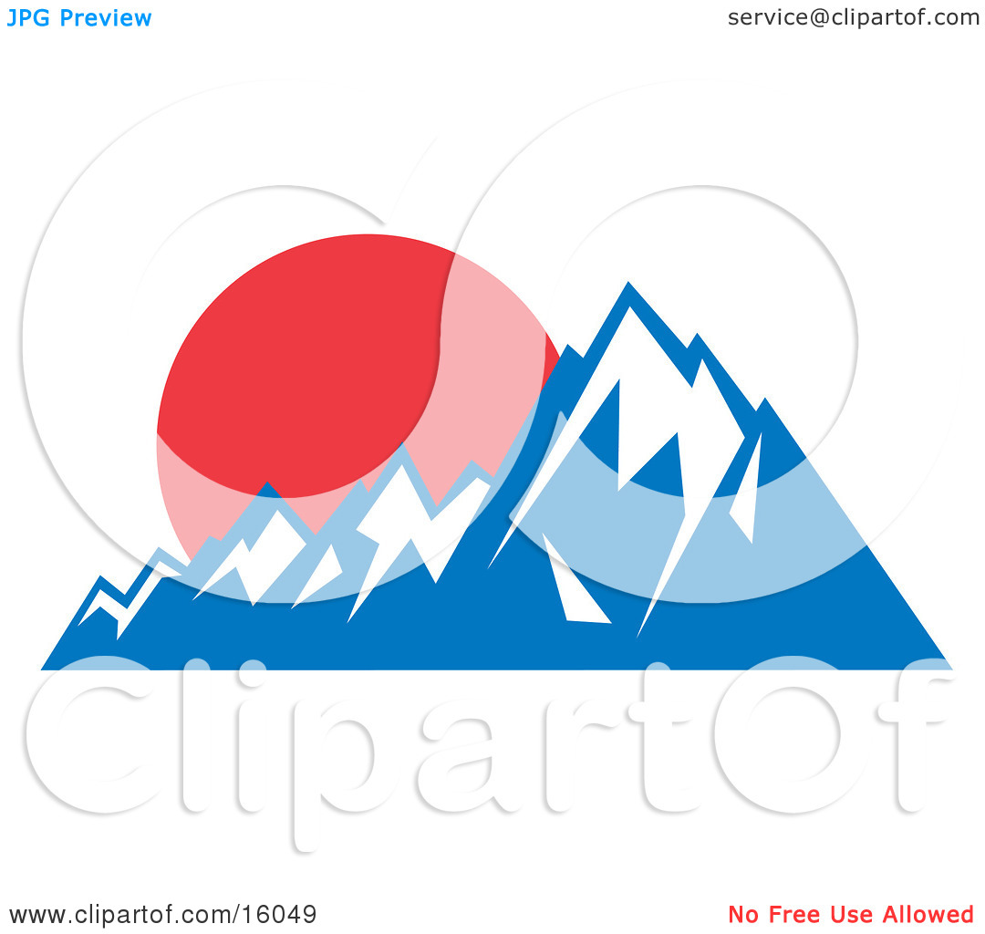 1080x1024 Mountain Clipart Snow Capped Mountain