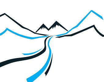 340x270 Mountain Graphic Etsy