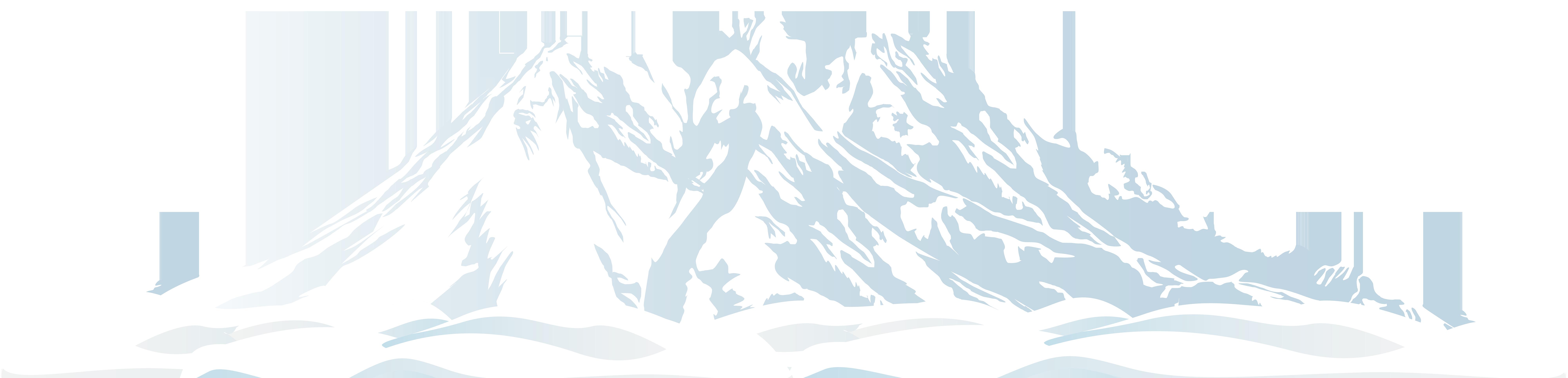 8000x1928 Winter Snowy Mountain Png Clip Art Imageu200b Gallery Yopriceville