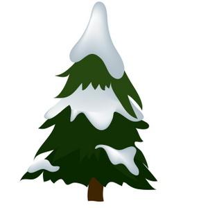 300x300 Snow Clipart Pine Tree