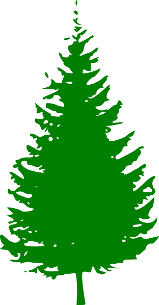 312x598 Snowy Pine Tree Clipart Free Clipart Images 2 Image