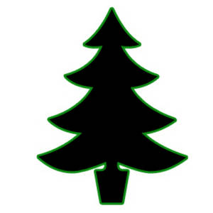 300x300 Christmas Tree Clipart Pine Tree