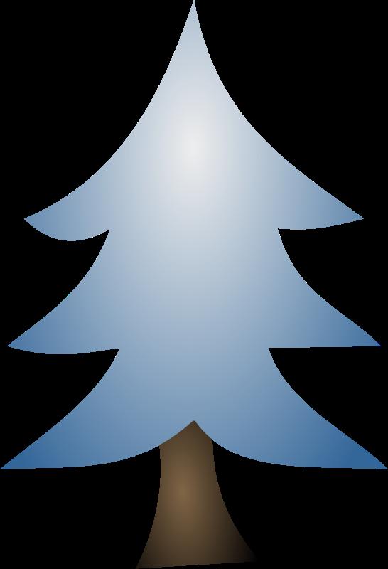 Snowy Pine Tree Clipart | Free download best Snowy Pine ...