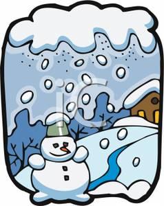 238x300 Snowfall Clipart Snowy Weather