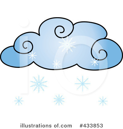400x420 Snowing Clipart