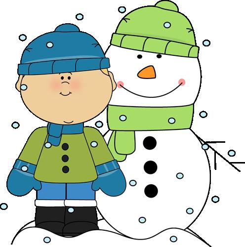 496x500 Snowy Snow Day Clipart Kid