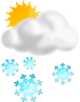 Snow weather. Snowy clipart free download